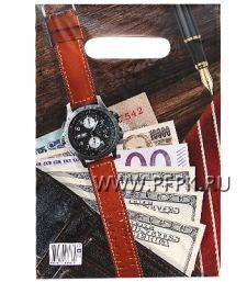 БУТИК, вырубная ручка, 20х30 (30мкм) ПВД, ТИКО Мужской NEW