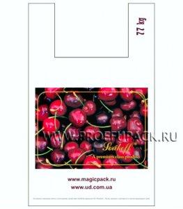 Майка КЛУБНИКА 37+16х60 ПНД (40мкм) SERIKOFF Вишня