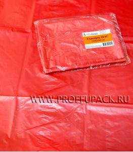 Скатерть ПЭТ 110х220 цветная Красная