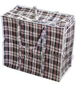 Хозяйственная сумка с молнией, №1 (40+20x35+20) (арт.101)