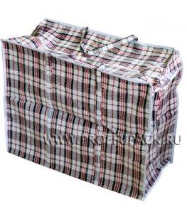 Хозяйственная сумка с молнией, №2 (45+20х40+20) (арт.102)