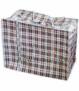 Хозяйственная сумка с молнией, №3 (50+25х45+25) (арт.103)