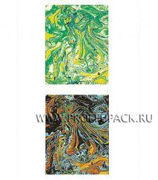 Сумочка бумажная 6х26х5 ЛЮКС №6 Метаморфозы (633)