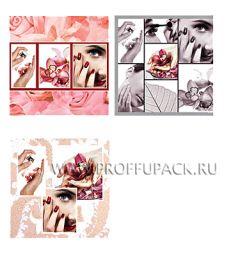 Сумочка бумажная 6х26х5 ЛЮКС №6 Мода (911)