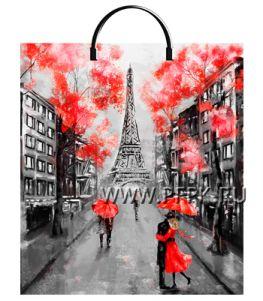 Пакет с пласт.руч. ФОТОПЕЧАТЬ 40х44 (100 мкм) ТИКО Париж