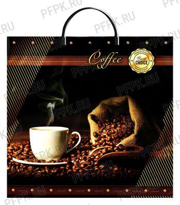 Пакет с пласт.руч. ФОТОПЕЧАТЬ 36х34 (85 мкм) ЛАМ Кофе