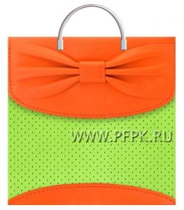 Пакет с пласт.руч. ФОТОПЕЧАТЬ 36х37 (100 мкм) ТИКО Лайм сумочка