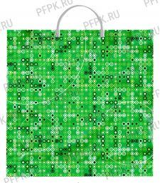 Пакет с пласт.руч. ФОТОПЕЧАТЬ 36х37 (100 мкм) ТИКО Пузырьки