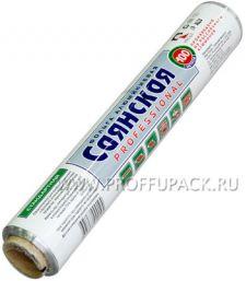 Фольга САЯНСКАЯ 290мм*100м (9 мкм) СТАНДАРТ ЭКОНОМ