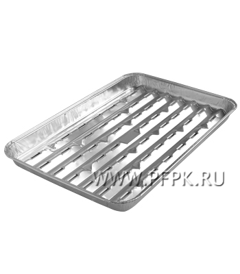 Формы алюминиевые ВКУСНЫЙ ГРИЛЬ ПИКНИЧОК(401-566) упак.3шт