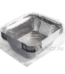 Формы алюминиевые прямоугольные 0,49л (уп. 10 шт.) ГОРНИЦА (402-716)