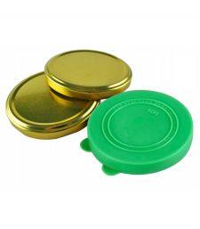 Крышки для банок (полиэтилен, металл)