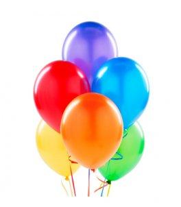 Воздушные шары, мыльные пузыри
