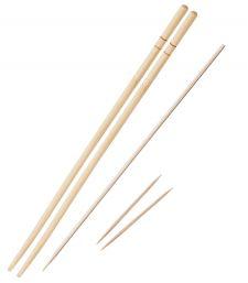 Палочки для суши, шпажки для шашлыка, зубочистки