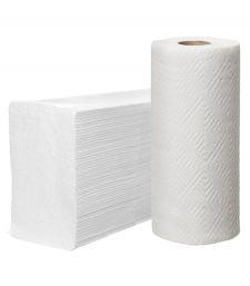 Полотенца бумажные (в рулонах, для диспенсеров)