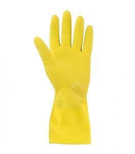 Резиновые хозяйственные перчатки (бытовые)