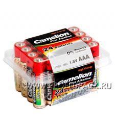 Батарейки CAMELION Plus LR3 (AAA) алкалин (коробка 24 шт) [24/576]