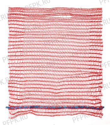 Сетки-мешки овощные 25х39 (до 5 кг) с завязками, с ручками Красные [100/3000]