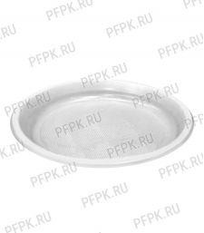 Тарелка 1-секционная D205 Эконом [100/1600]