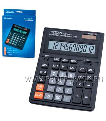Калькулятор CITIZEN SDC-444S (250-221/118-840) [1/40]