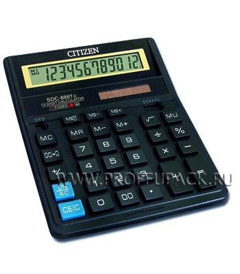 Калькулятор CITIZEN SDC-888XBK (004-117/158-171) [1/40]