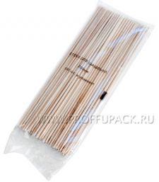 Шампуры для шашлыка 200мм (100 шт. в уп.) Бамбуковые Фиеста [1/100]