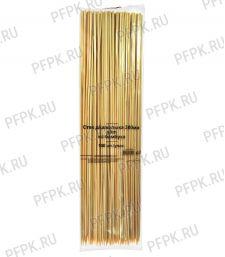 Шампуры для шашлыка 300мм (100 шт. в уп.) Бамбуковые CTPBS300s SLIM [1/100]