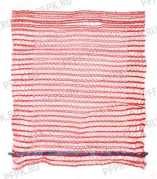 Сетки-мешки овощные 45х75 (до 30 кг) с завязками Красные [100/2000]