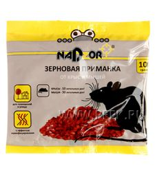 Приманка от грызунов, зерно (пакет 100 гр) NADZOR NASA 367 [1/50]