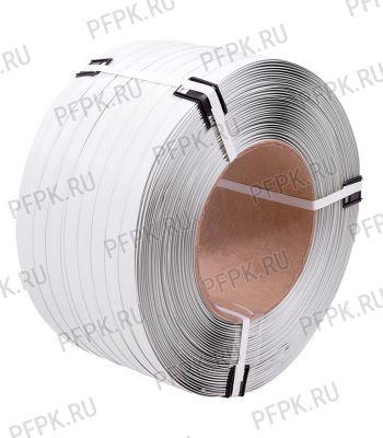 Лента полипропиленовая 12мм х0,5х3500 ТС Э Белая