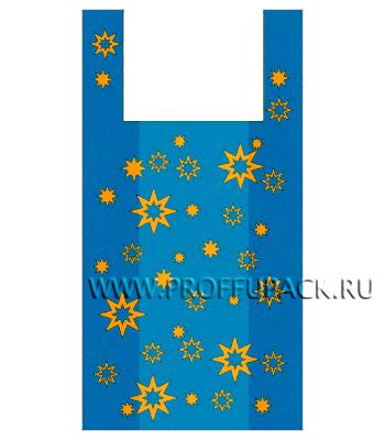 Майка ЗВЕЗДЫ ЭКОНОМ Синяя П-6 [100/2500]