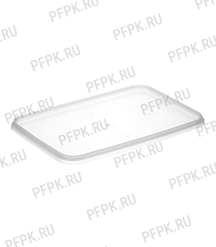 Банка ПП 1000мл, прямоугольная, 191 (без крышки) Белая [1/306]