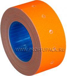 Этикет-лента 21,5х12 МНК цветная (700 шт.) Оранжевая (304-028) [10/270]