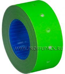 Этикет-лента 21,5х12 МНК цветная (700 шт.) Зеленая (304-029) [10/270]