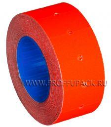 Этикет-лента 21,5х12 МНК цветная (700 шт.) Красная (304-030) [10/270]