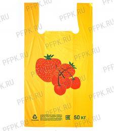 Майка ЯГОДА 31+18х55 Желтая [100/2000]