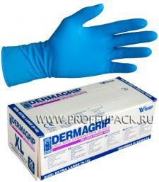 Перчатки латексные DERMAGRIP HIGH RISK (Хай риск) XL (размер 9-10) [25/250]