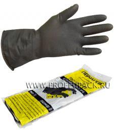 Перчатки КЩС-2 кислото-щелоче-стойкие L (размер 9) [12/240]