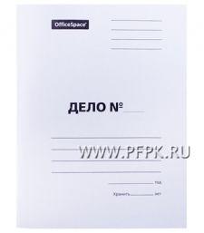 Папка-скоросшиватель ДЕЛО А4, немел. картон 220гр/м2 (249-413) [10/250]