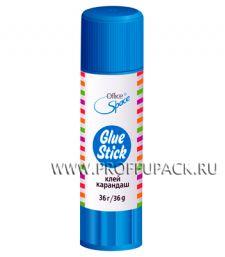 Клей-карандаш 36гр (158-724 / GS36_246) [12/324]