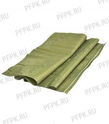 Мешок полипропиленовый 55х95 зеленый (50 гр) [100/1000]