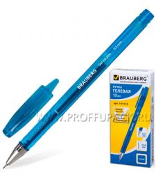 Ручка гелевая BRAUBERG Income (Инком) 0.5мм Синяя (141-516) [12/1728]