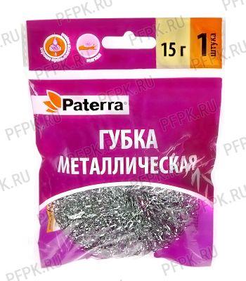 Губка металлическая плетеная PATERRA (406-078) [1/100]