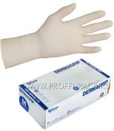 Перчатки латексные DERMAGRIP EXTRA (Экстра) M [25/250]