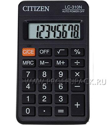 Калькулятор CITIZEN LC-310N (064-433/250-345) [1/20]