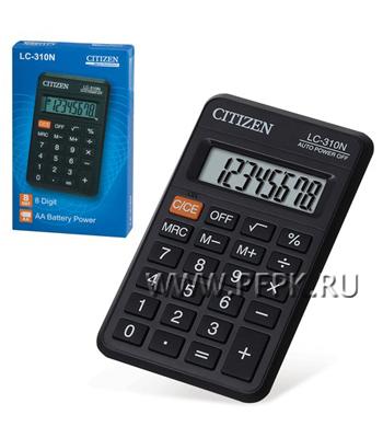 Калькулятор CITIZEN LC-310N LC-310NR (250-345) [1/20]
