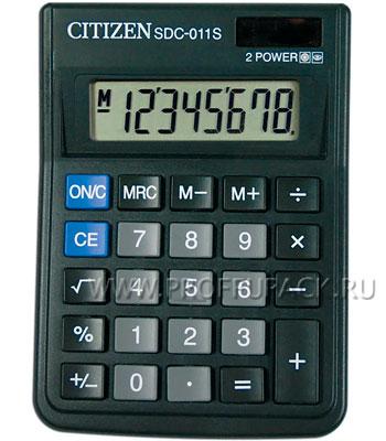 Калькулятор CITIZEN SDC-011S (118-191) [1/20]