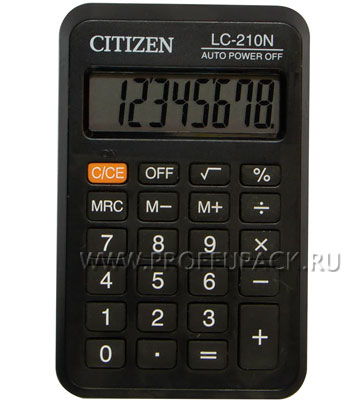 Калькулятор CITIZEN LC-210NR (146-596) [1/20]