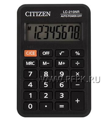 Калькулятор CITIZEN LC-210NR (250-344) [1/20]