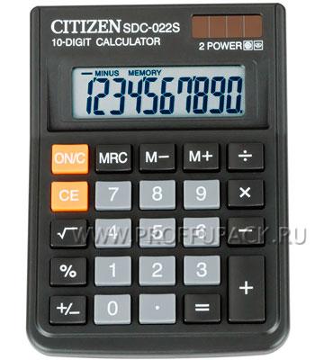 Калькулятор CITIZEN SDC-022S (143-624) [1/20]
